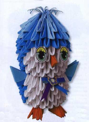 оригами схема маленького пенгвиненка