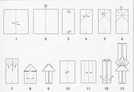 Ракета оригами