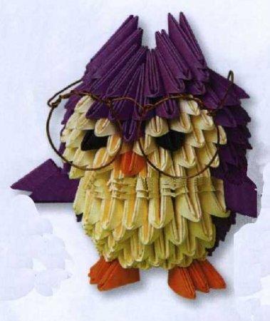 Модульное оригами животные, птицы, насекомые - Страница 13
