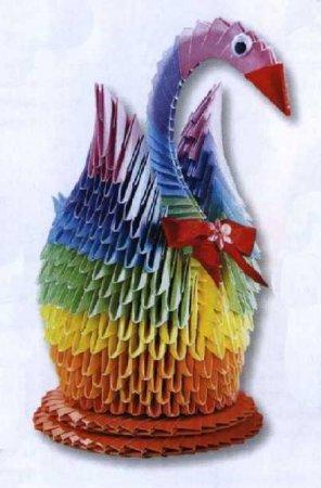 Модульное оригами животные, птицы, насекомые - Страница 12