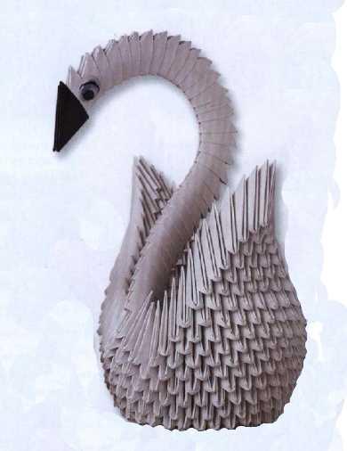 Как собирать лебедя из модулей оригами 176