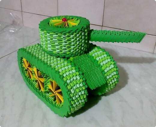 orgami.asusy.x10.mx-Подробно о - модульное оригами танк схема.