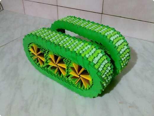 танк,модульное оригамми