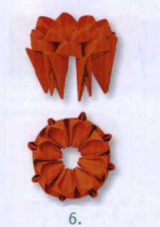 Кактус  с оранжевыми цветами