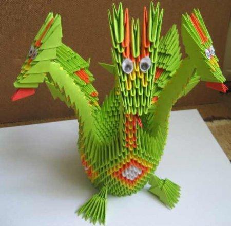 схема сборки дракона из