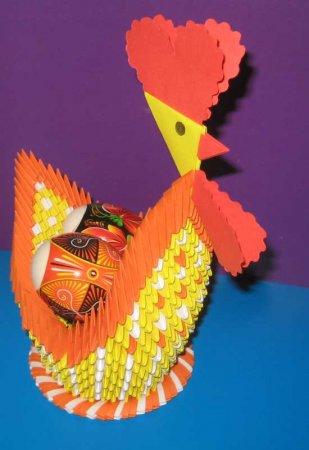 Пасху. Модульное оригами
