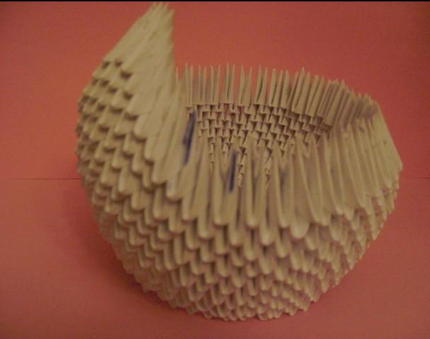 Модульные оригами черный принц