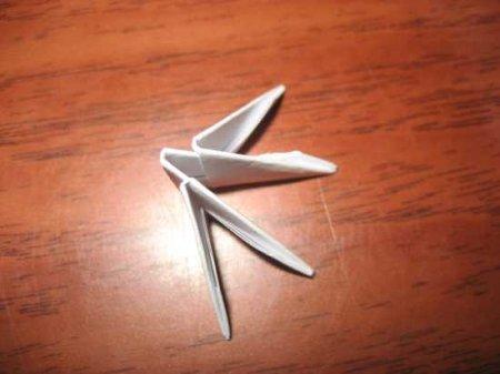 Пингвин из треугольных модулей
