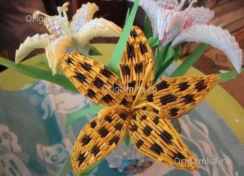 """Модульное оригами """"Лилия"""""""