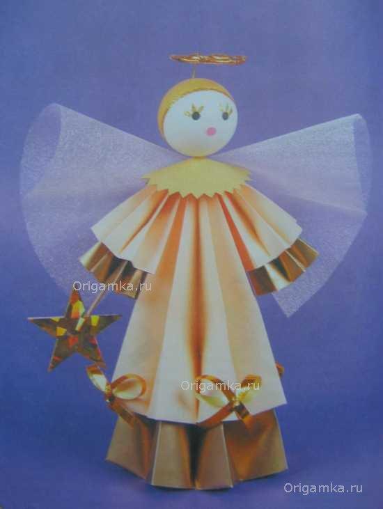 """Кукла """"Ангел"""" состоит из"""