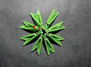 Новогоднее оригами из бумаги своими руками