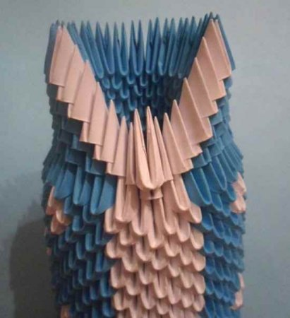 """Модульное оригами """"Дед Мороз"""""""