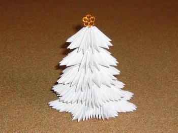 Как сделать елку из бумаги своими руками.