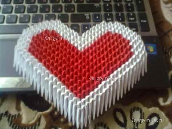 Модульное оригами поросёнок