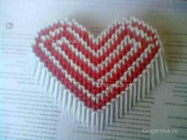 Как сделать сердечко из модулей видео - Ross-plast.ru