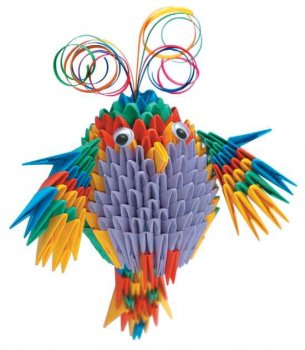Модульное <strong>модульного</strong> оригами попугай