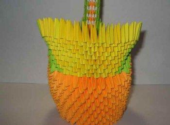 Модульное оригами - Пава