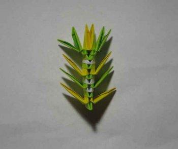 """Модульное оригами """"Пава"""""""