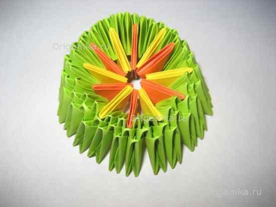 Модульное оригами: Танк
