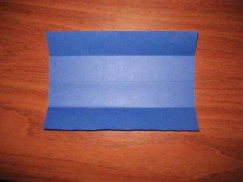 Оригами открытка-рубашка