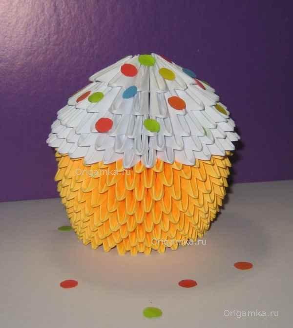 Модульное оригами «Пасхальный