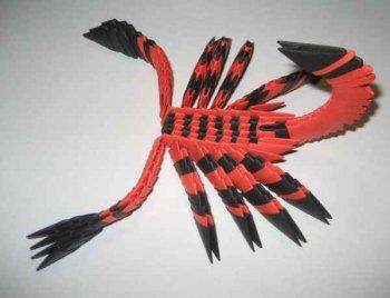 """Модульное оригами """"Скорпион"""""""