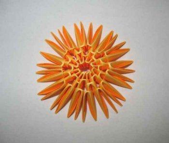 """Модульное оригами """"Пасхальное яйцо"""""""