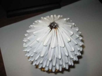 Модульное оригами «Пасхальный кулич»