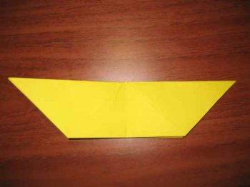 Оригами «Пасхальный заяц»