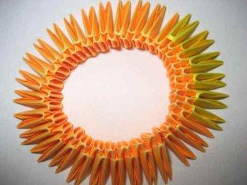 Модульное оригами «Вечный огонь»