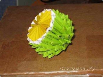 Модульное оригами «Лимон»