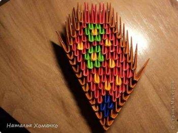 Модульное оригами «Бабочка»