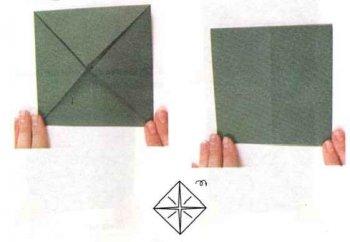 Стул оригами