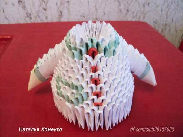 Оригами из бумаги для своего парня