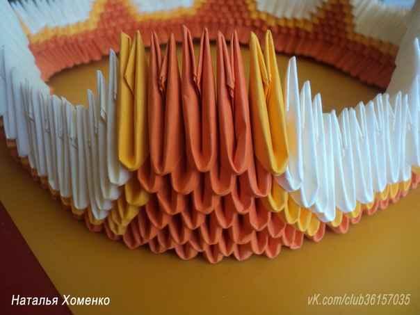 Маленькие оригами модулей схема фото 328