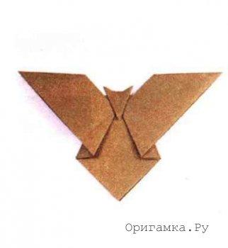 Оригами «Летучая мышь»
