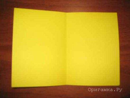 Лодочка оригами