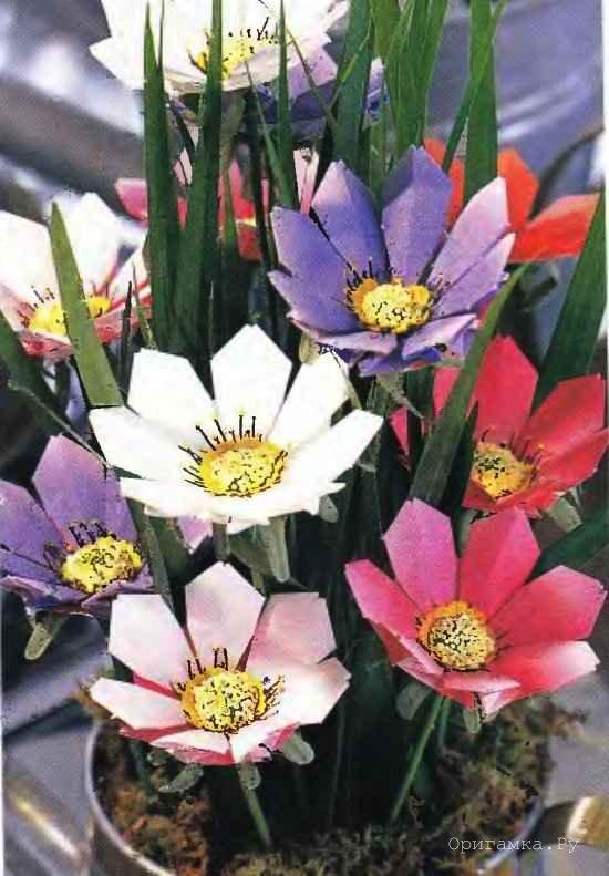 Для складывания цветов
