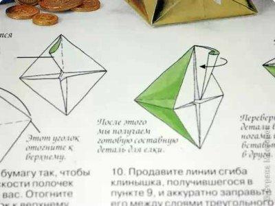 Ёлочка оригами