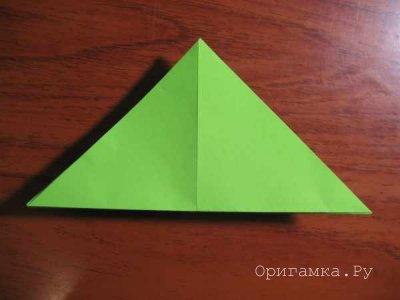 Оригами «Елка»