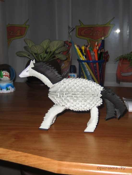 Модульное оригами лошадка схема сборки фото 975