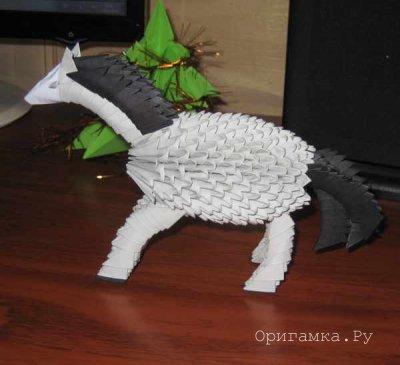 Модульное оригами «Лошадь»