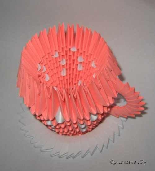 Оригами схемы ваза для цветов 151