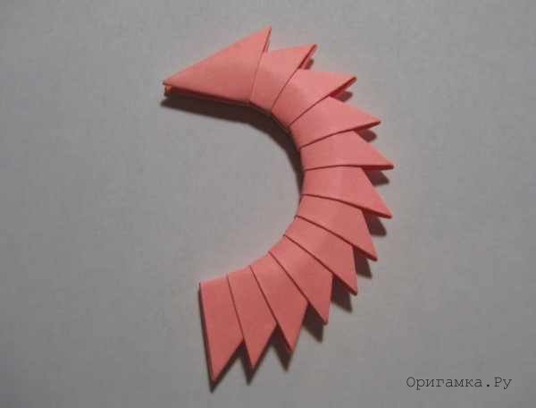 Модульное оригами кошка схема сборки фото 673