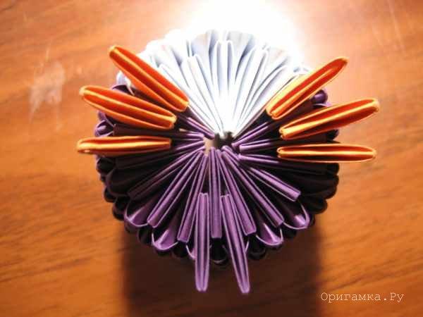 Схема модульного оригами сова 611