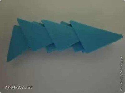 Модульное оригами «Дельфин»