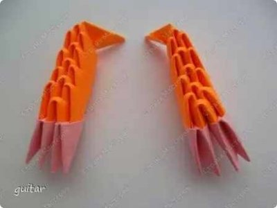Модульное оригами «Божья коровка»