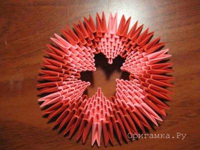 Модульное оригами «Кувшинка»