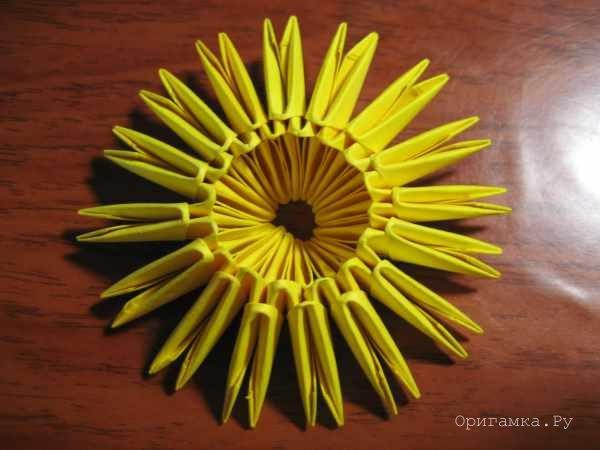 Модульное оригами цыплёнок схема фото 731