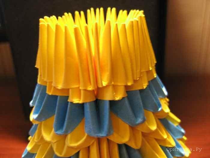 Сборка 25 ряда вазы с ручками